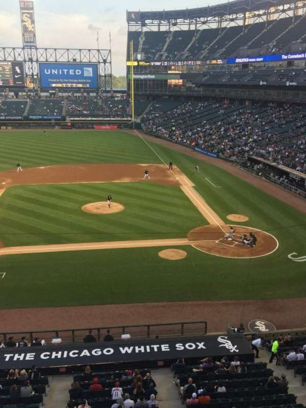 Guaranteed Rate Field, section: 338, row: 1, seat: 1