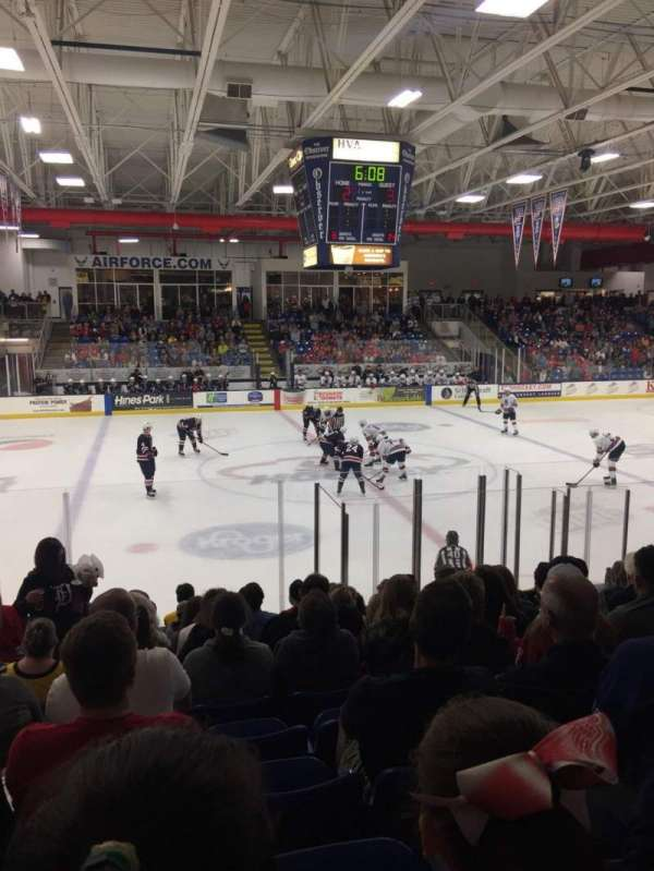 USA Hockey Arena, section: 113, row: M, seat: 11