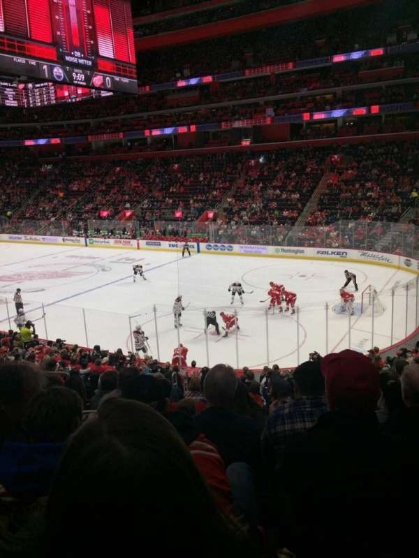 Little Caesars Arena, section: 105, row: 19, seat: 14