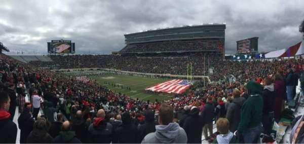 Spartan Stadium, section: 4, row: 46, seat: 55