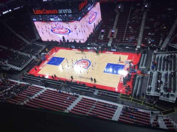 Little Caesars Arena, section: GPB3, row: 1, seat: 31