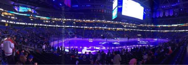 Amalie Arena, section: 118, row: N, seat: 2