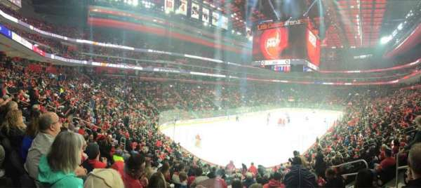 Little Caesars Arena, section: 101, row: 19, seat: 6
