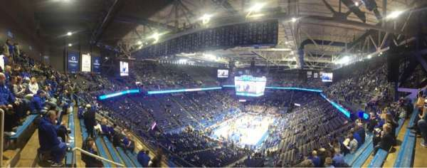 Rupp Arena, section: 219, row: M, seat: 29