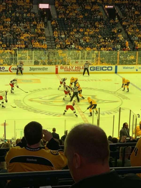 Bridgestone Arena, section: 115, row: L, seat: 7