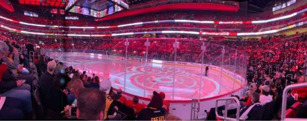 Little Caesars Arena, section: 106, row: 5, seat: 1