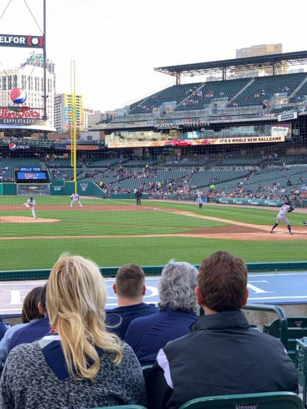 Comerica Park, section: 133, row: 14, seat: 3