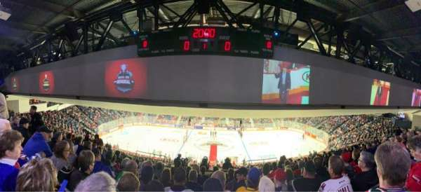 Scotiabank Centre, section: 33, row: O, seat: 7