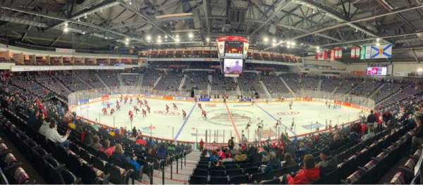 Scotiabank Centre, section: 8, row: T, seat: 6