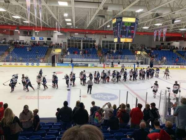 USA Hockey Arena, section: 113, row: M, seat: 13