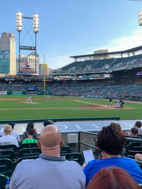 Comerica Park, section: 133, row: 14, seat: 4