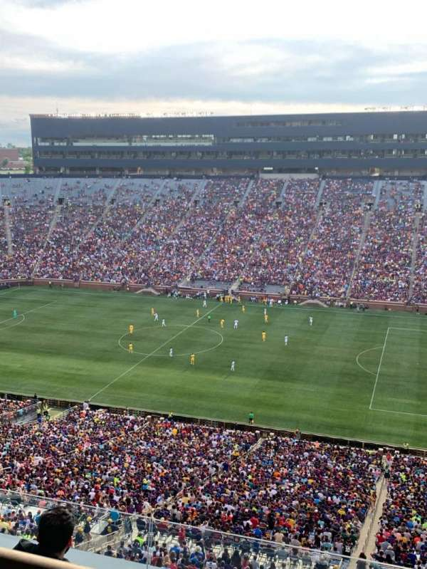 Michigan Stadium, section: 415, row: WC