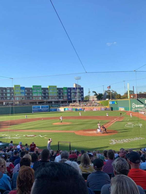 Cooley Law School Stadium, section: K, row: 21, seat: 7