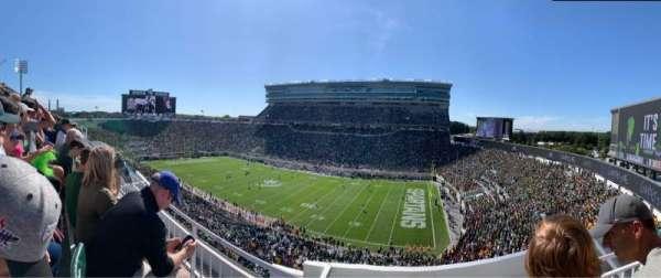 Spartan Stadium, section: 106, row: 2, seat: 1