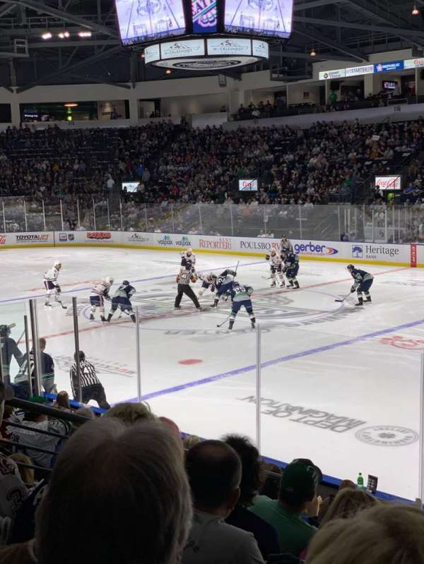 ShoWare Center, section: 107, row: 10, seat: 12