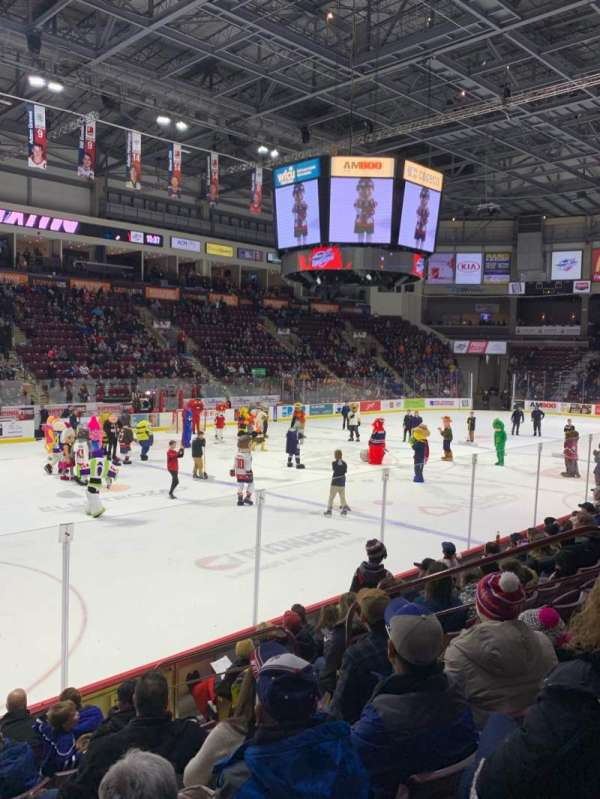 WFCU Centre, section: 106, row: H, seat: 7