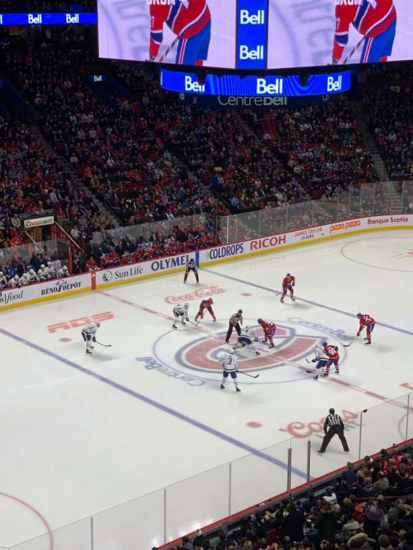 Centre Bell, section: 216, row: C, seat: 11