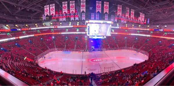 Centre Bell, section: 214, row: A, seat: 4