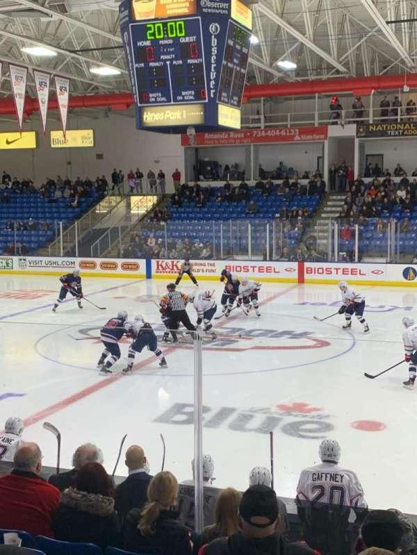 USA Hockey Arena, section: 102, row: K, seat: 3