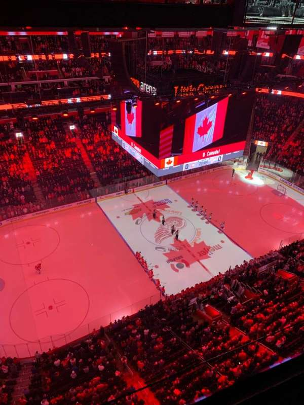 Little Caesars Arena, section: G21, row: 1, seat: 1