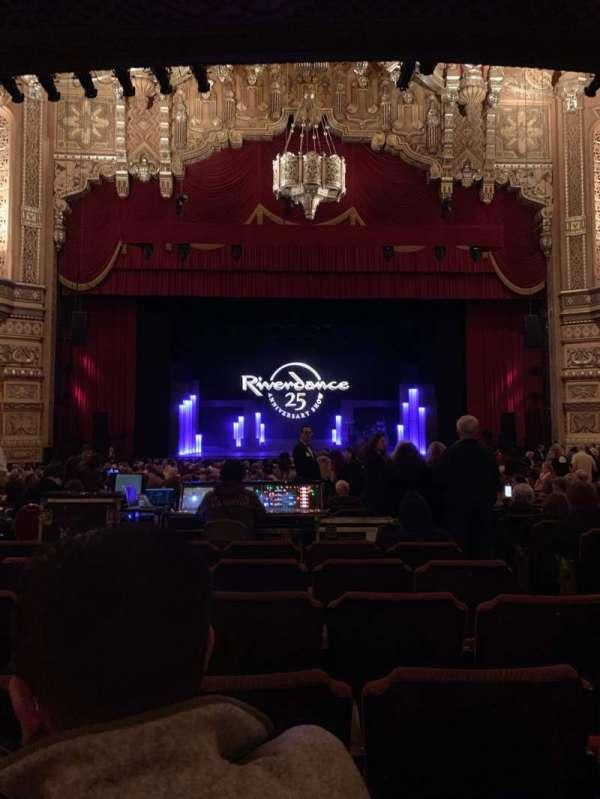 Fox Theatre (Detroit), section: F3, row: CC, seat: 312