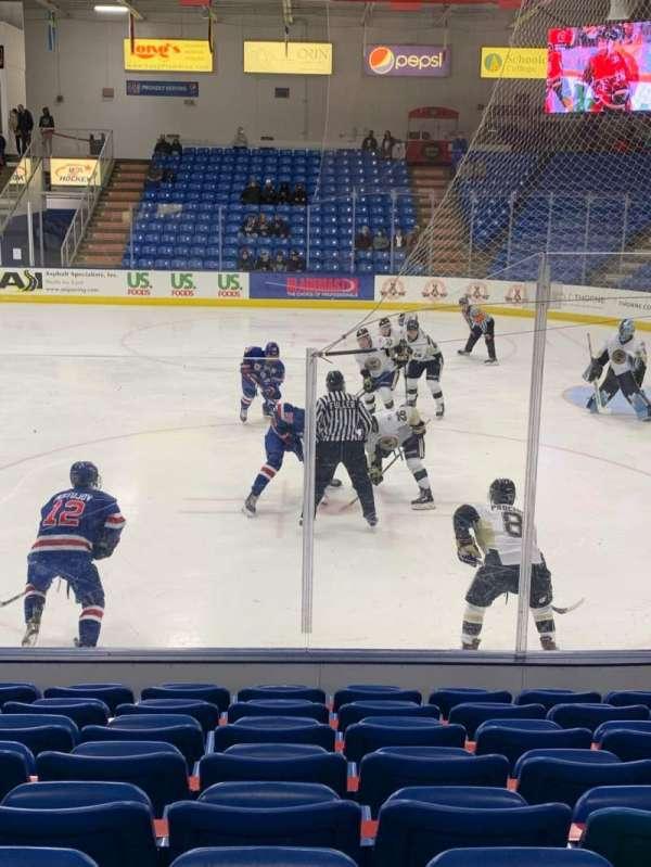 USA Hockey Arena, section: 101, row: J, seat: 10