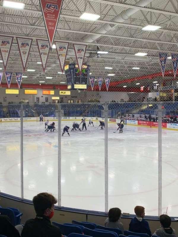 USA Hockey Arena, section: 109, row: H, seat: 10