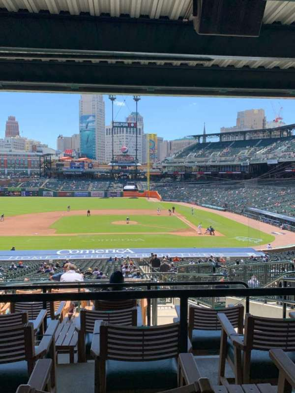 Comerica Park, section: 133, row: H, seat: 4