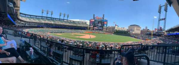 Comerica Park, section: 118, row: B, seat: 4