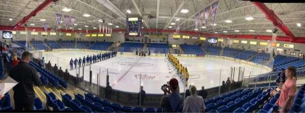 USA Hockey Arena, section: 102, row: K, seat: 10