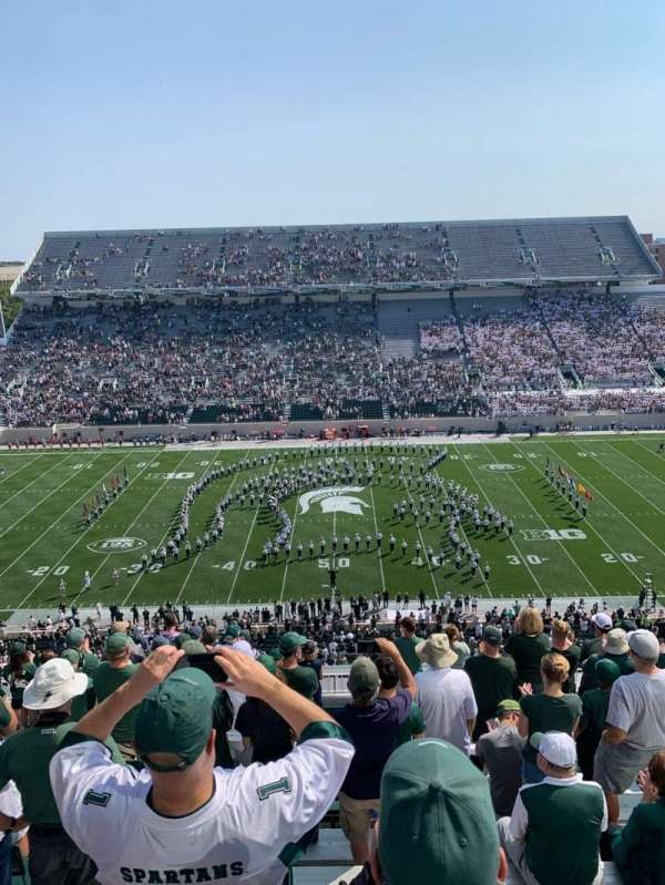 Spartan Stadium, section: 123, row: 15, seat: 34