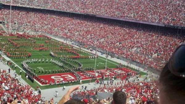 Ohio Stadium, section: 33B, row: 20, seat: 23