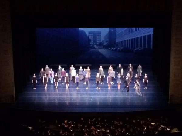 Auditorium Theatre, section: FBLC-C, row: G, seat: 404