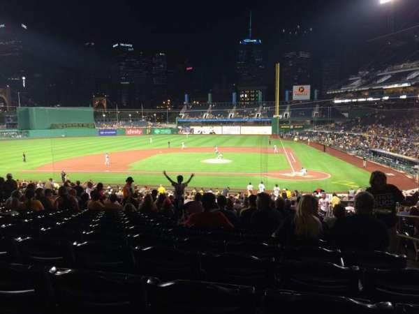 PNC Park, section: 120, row: CC, seat: 2