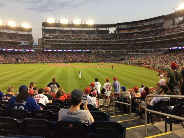 Nationals Park, section: 103, row: K, seat: 2