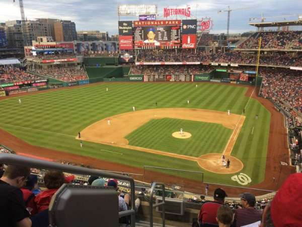 Nationals Park, section: 311, row: F, seat: 21