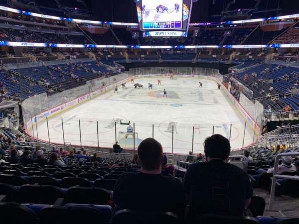 Amway Center, section: 101, row: 24, seat: 3