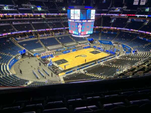 Amway Center, section: 228, row: 5, seat: 18
