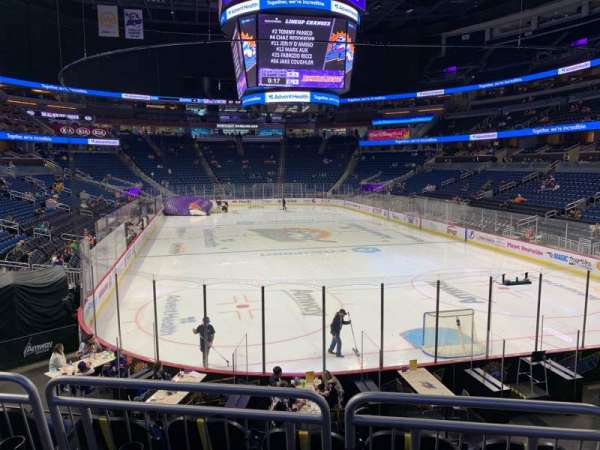 Amway Center, section: 111, row: 18, seat: 3