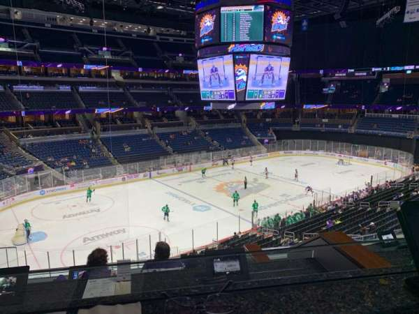 Amway Center, section: Loge Box N, row: 3, seat: 3