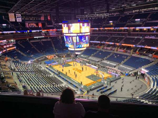 Amway Center, section: 220, row: 3, seat: 17