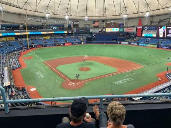 Tropicana Field, section: 304, row: C, seat: 3