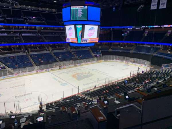 Amway Center, section: LOGE Box M, seat: 4
