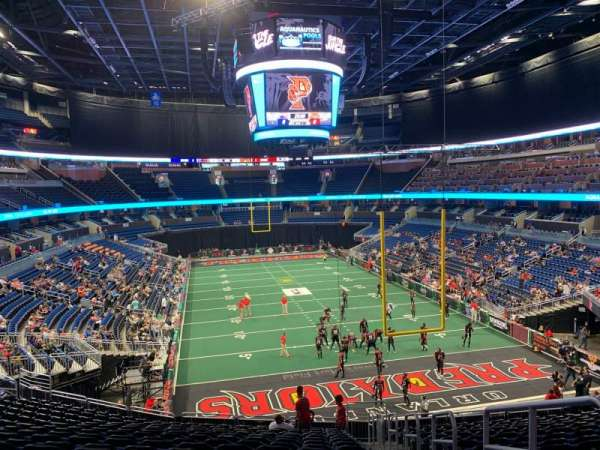 Amway Center, section: 102, row: 31, seat: 2