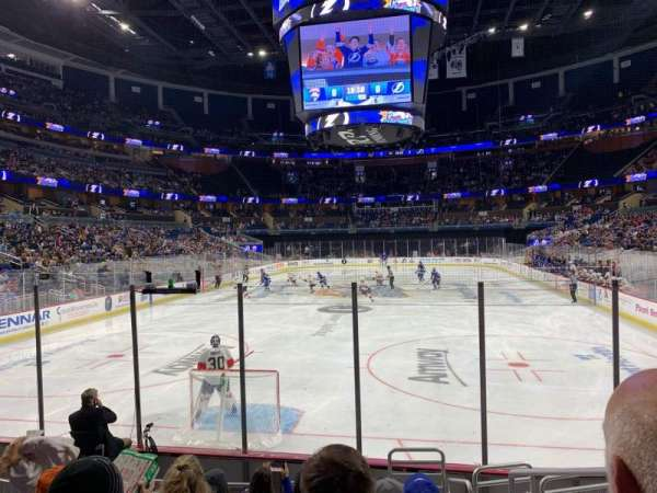 Amway Center, section: 101, row: 12, seat: 2