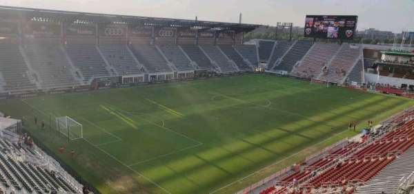 Audi Field, section: 112, row: 35, seat: 16