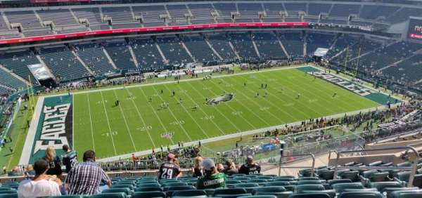Lincoln Financial Field, section: 242, row: 16, seat: 7