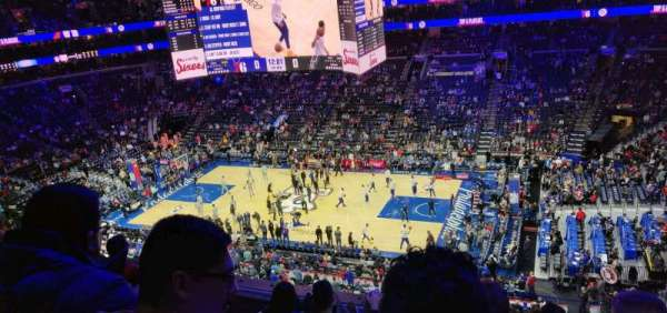 Wells Fargo Center, section: 215, row: 5, seat: 10
