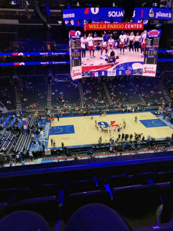 Wells Fargo Center, section: 224, row: 4, seat: 7