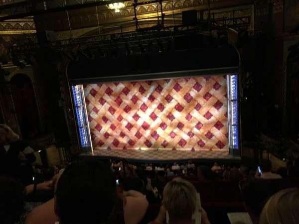 Brooks Atkinson Theatre, section: Center MEZZ, row: G, seat: 106
